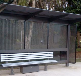 Safety & security screens in shelter