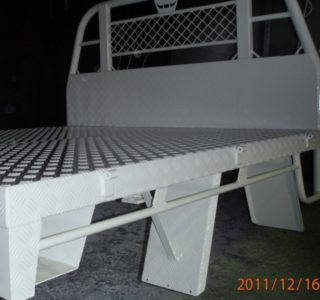 Ute custom tray - prep and coat