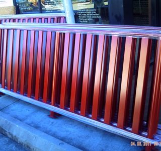 Verandah custom rails for pick up