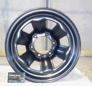 Wheel Rim - blast, e-prime and coat