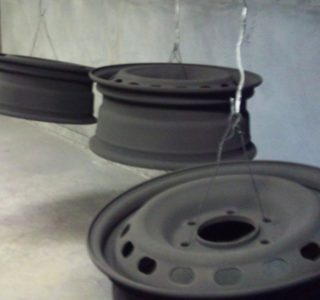 Wheel rims - prep for coating